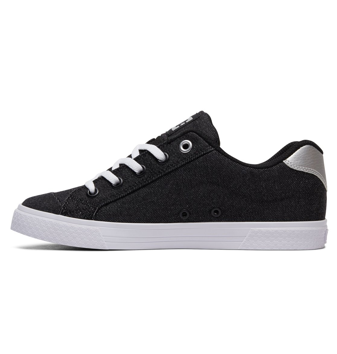Chaussures DC Shoes Heathrow SE noires Casual fille neodcac