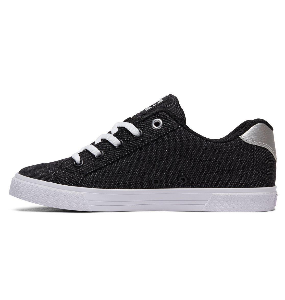 Chaussures DC Shoes Heathrow SE noires Casual fille