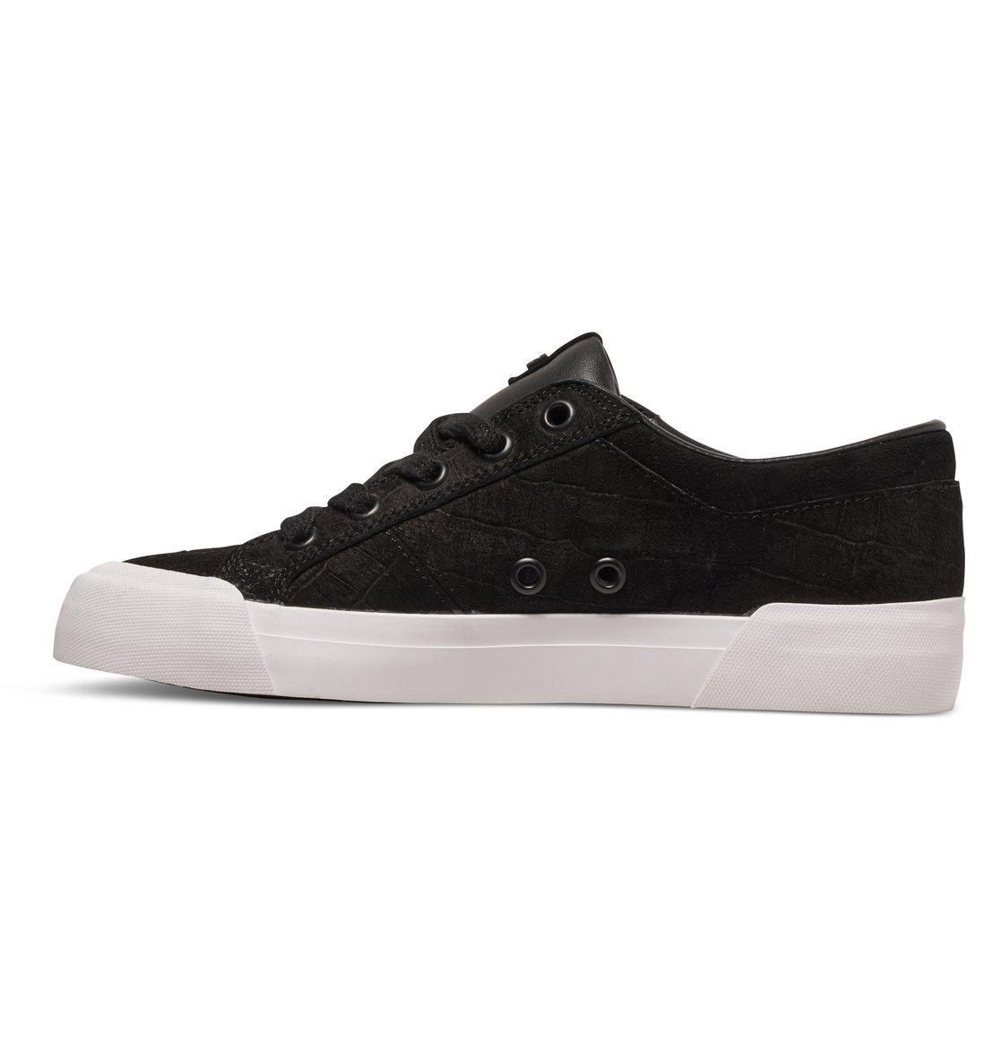 DC Danni XE Skate Shoe, Black Smooth, 5 M US