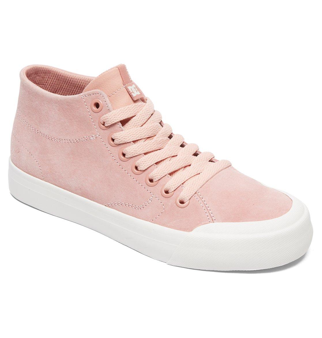 Evan Hi - Chaussures montantes en cuir - Blanc - DC Shoes