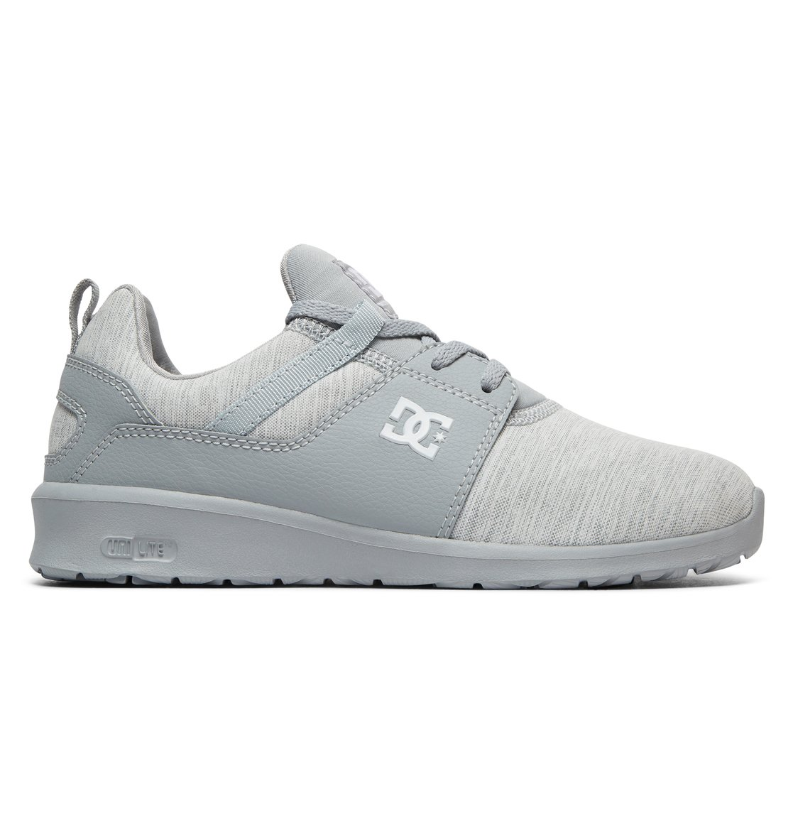 DC Shoes Heathrow TX Se, Baskets Femme, Gris (Grey/Grey/Grey-Combo Xsss), 40 EU