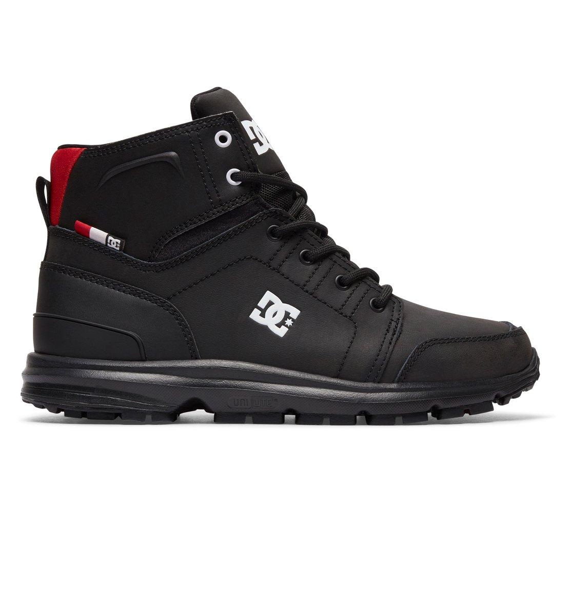 8b0fad3d473 DC Shoes Men's Torstein Boot 10 M Black/athletic Red/white