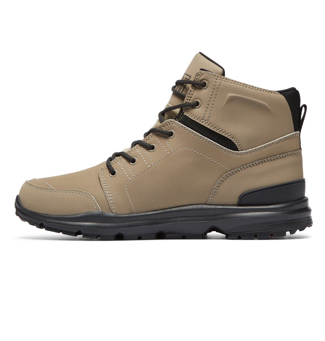 f0831f212f55 2 Torstein Lace-Up Leather Boots Brown ADMB700008 DC Shoes