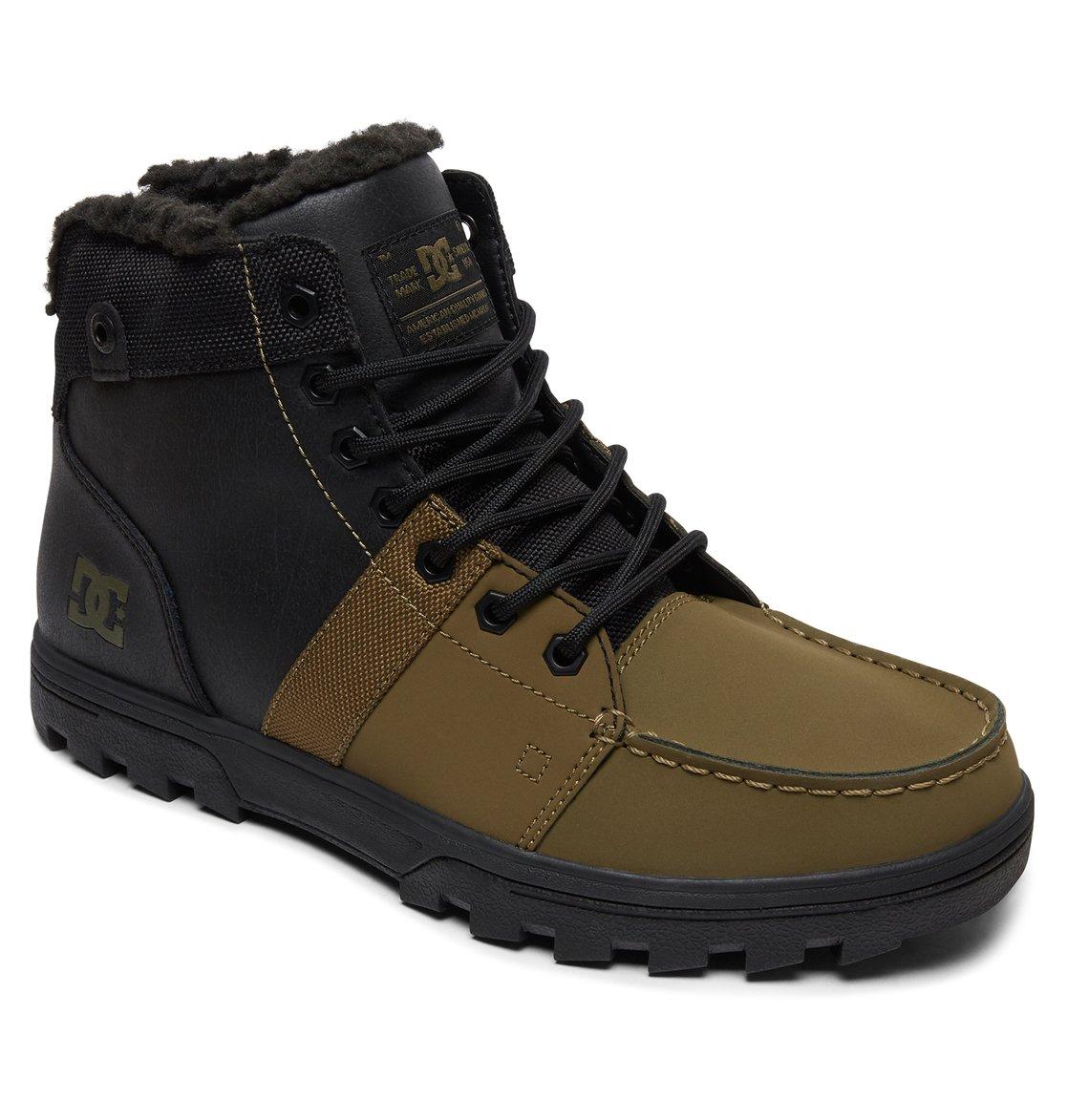 9d4c6436e79fbc 1 Woodland - Bottines d hiver pour Homme Noir ADYB700027 DC Shoes