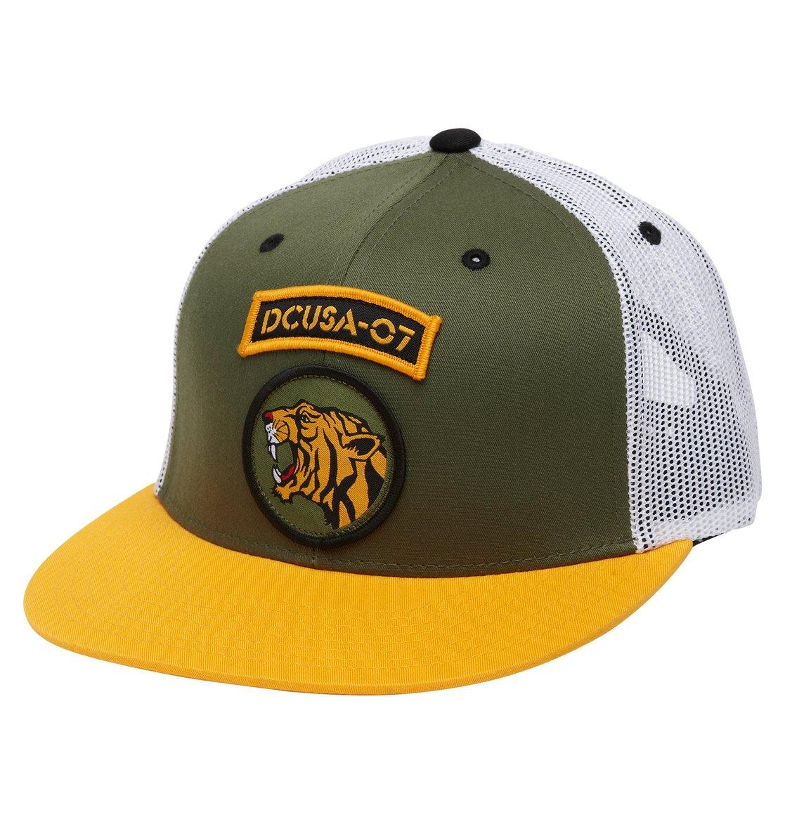 0 Men s Rob Dyrdek Jungle Trucker Hat ADYHA00172 DC Shoes 89e1d6605c9e