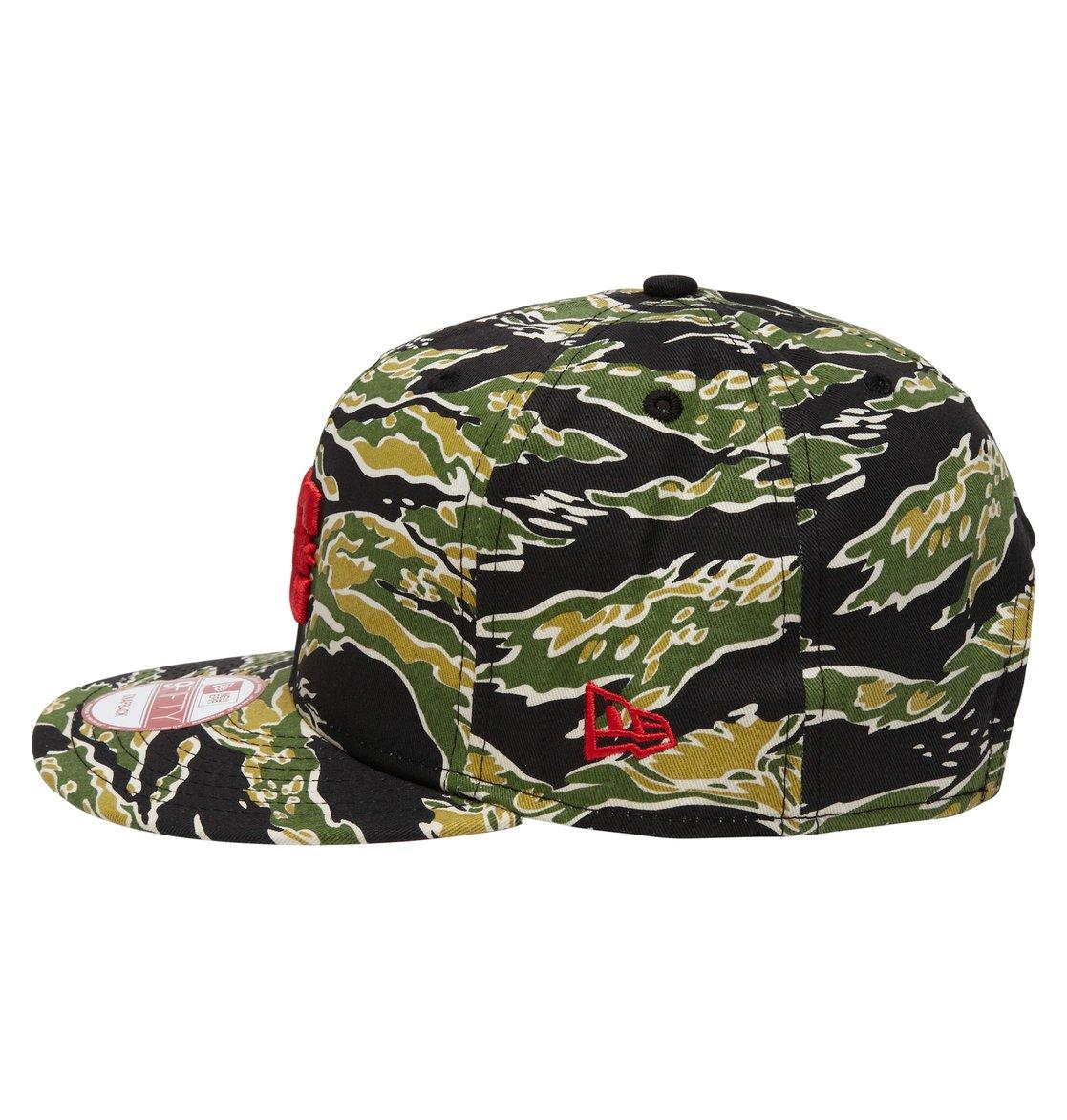 2 Men s Rob Dyrdek Tigerstripe Snapback Hat ADYHA00175 DC Shoes 38245f406eb