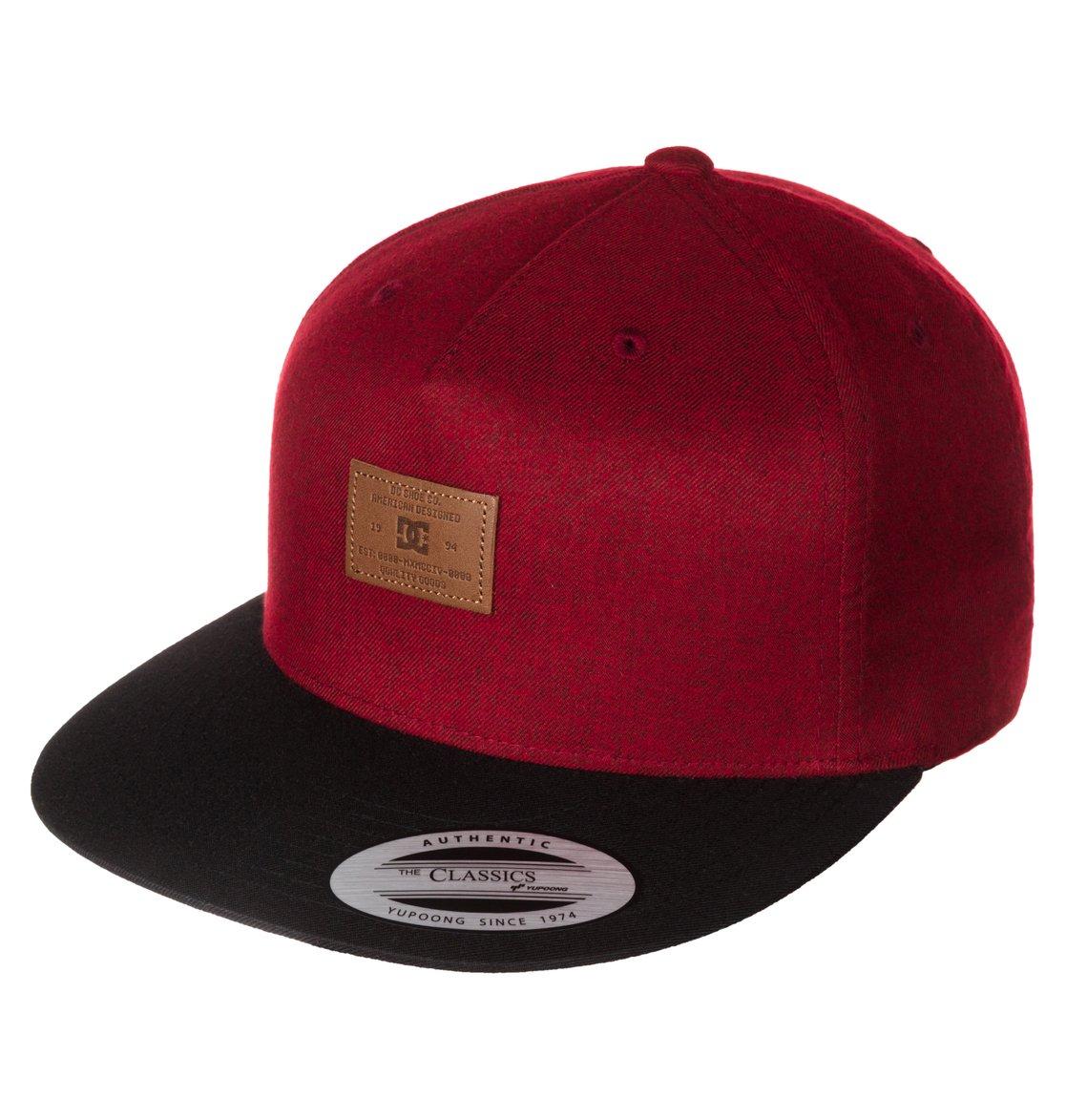 0 Men s Wino Snapback Hat ADYHA03048 DC Shoes 15530e1e43a