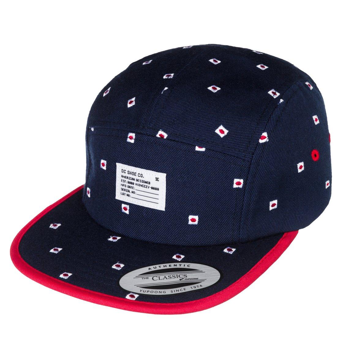 0 Men s Lined Up Cap Hat ADYHA03071 DC Shoes b3aa8356375