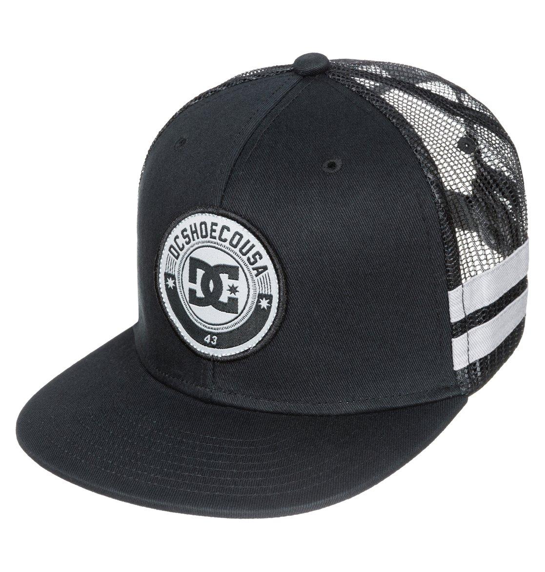 0 Men s Speedster 6-Panel Trucker Hat ADYHA03103 DC Shoes 67a8b654563