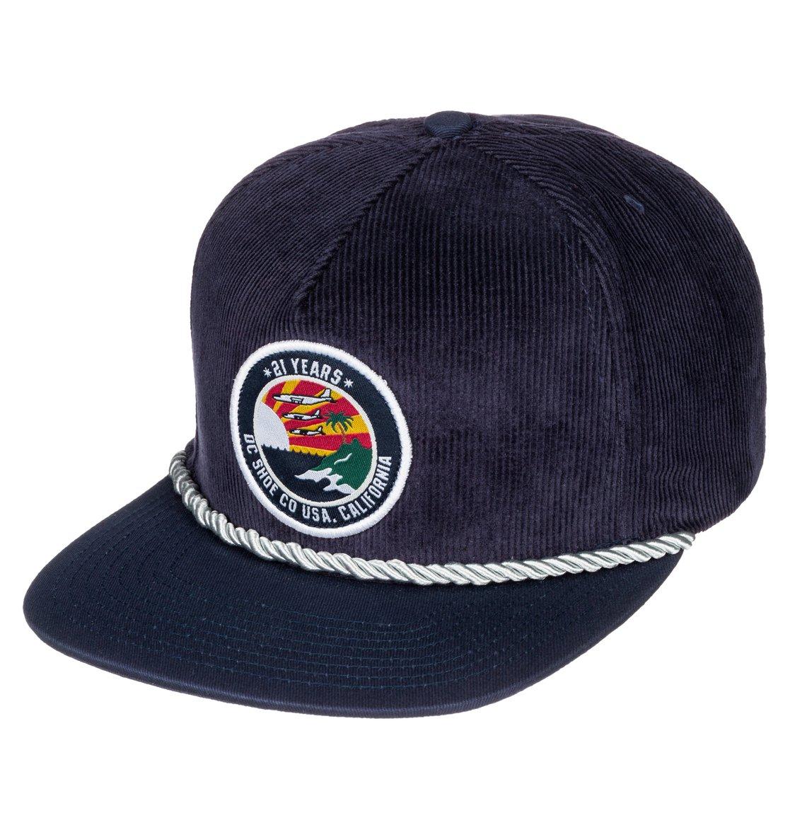 3b2cd86cd8f 0 Men s Boomer Snapback Hat ADYHA03143 DC Shoes