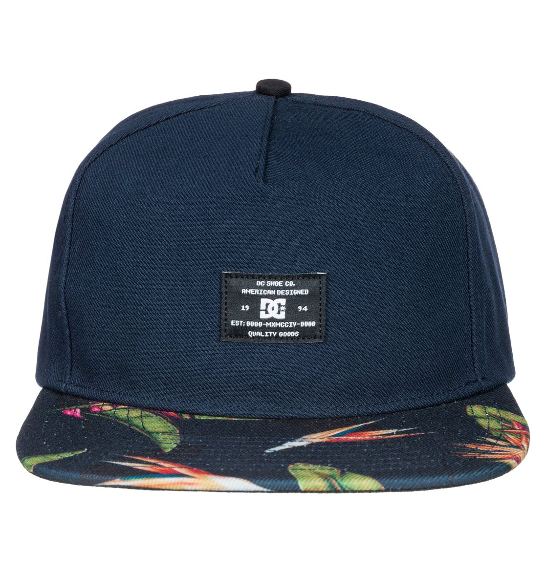 1 Men s Crossover Snapback Hat ADYHA03174 DC Shoes 366ae589c69