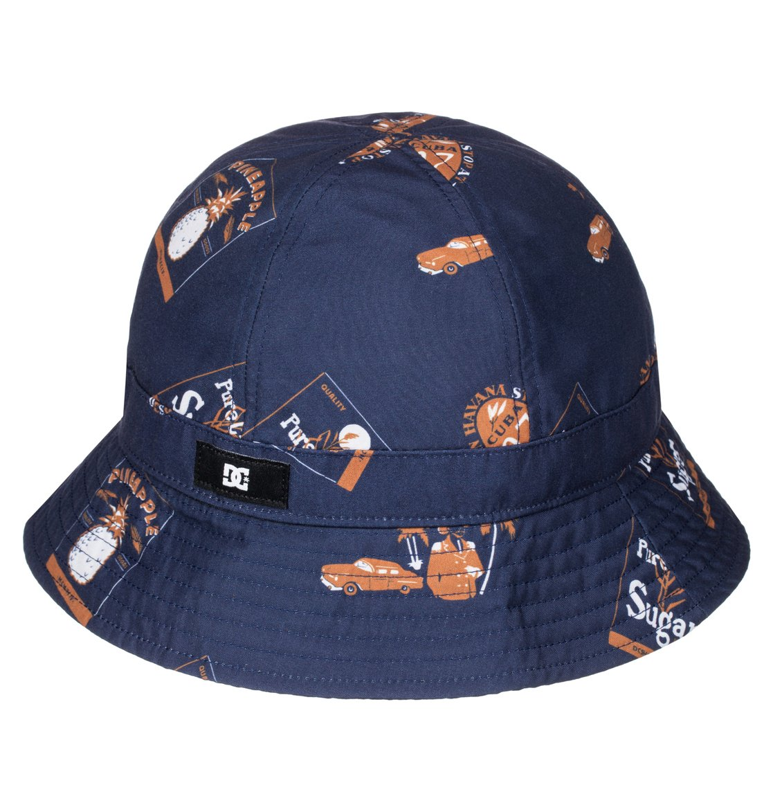 0 Men s Rum Bucket Hat ADYHA03262 DC Shoes 75fcc74c243