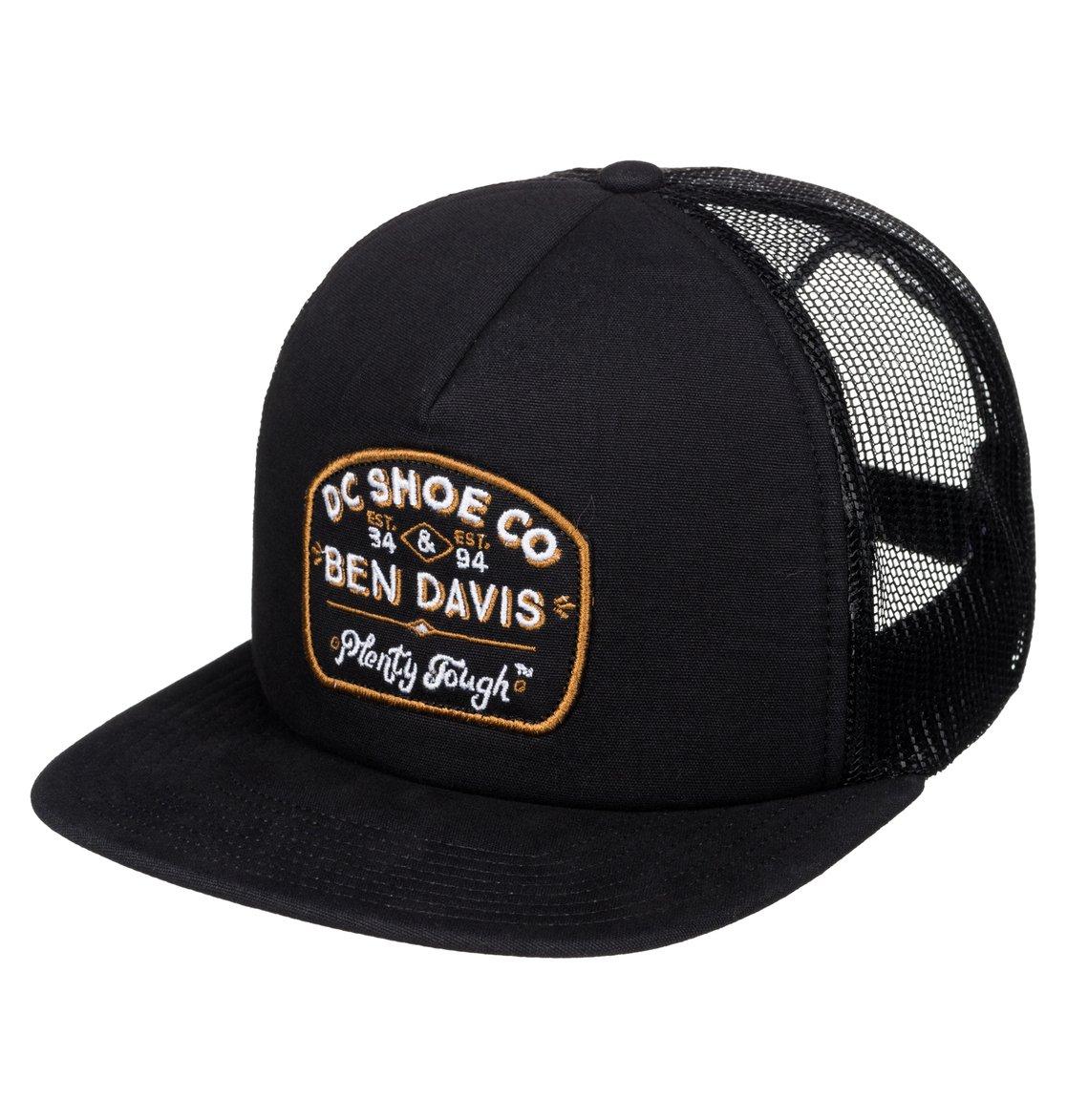 0 Ben Davis X DC Tough Trucker - Trucker Cap ADYHA03288 DC Shoes 2f6f6e4ed8e