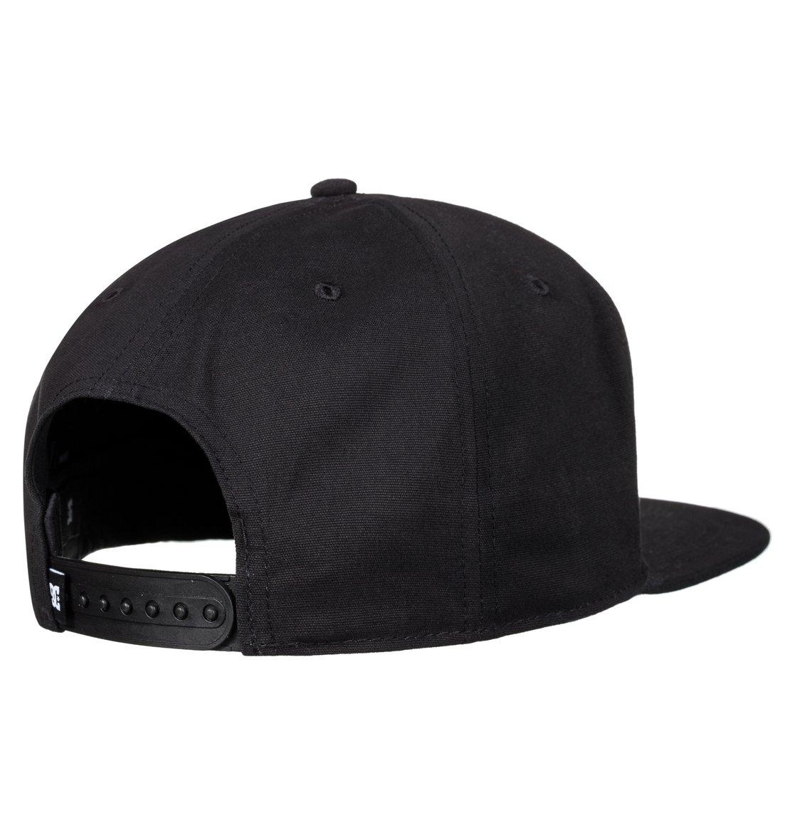 DC Shoes Men's Proceeder Snapback Hat Black