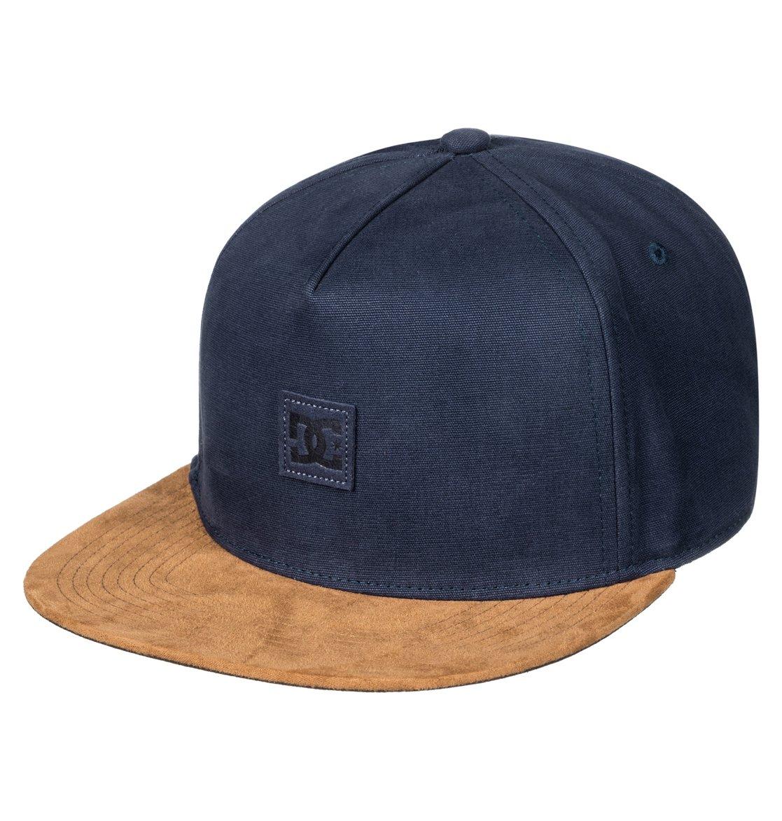 0 Finisher - Snapback Cap for Men Blue ADYHA03483 DC Shoes 7fa0d64e75c