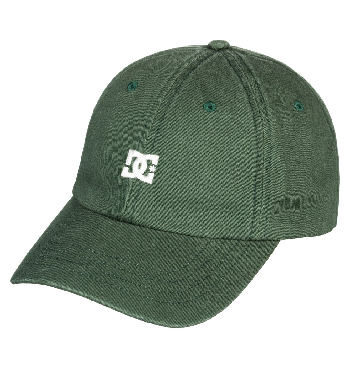 0 Uncle Fred Dad Hat Green ADYHA03546 DC Shoes 4a74184f929