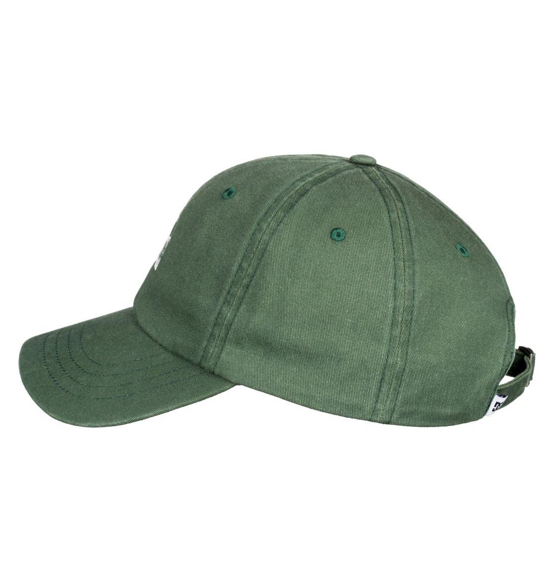 1 Uncle Fred - Gorra Dad Cap para Hombre Verde ADYHA03546 DC Shoes f3b6c3ac030