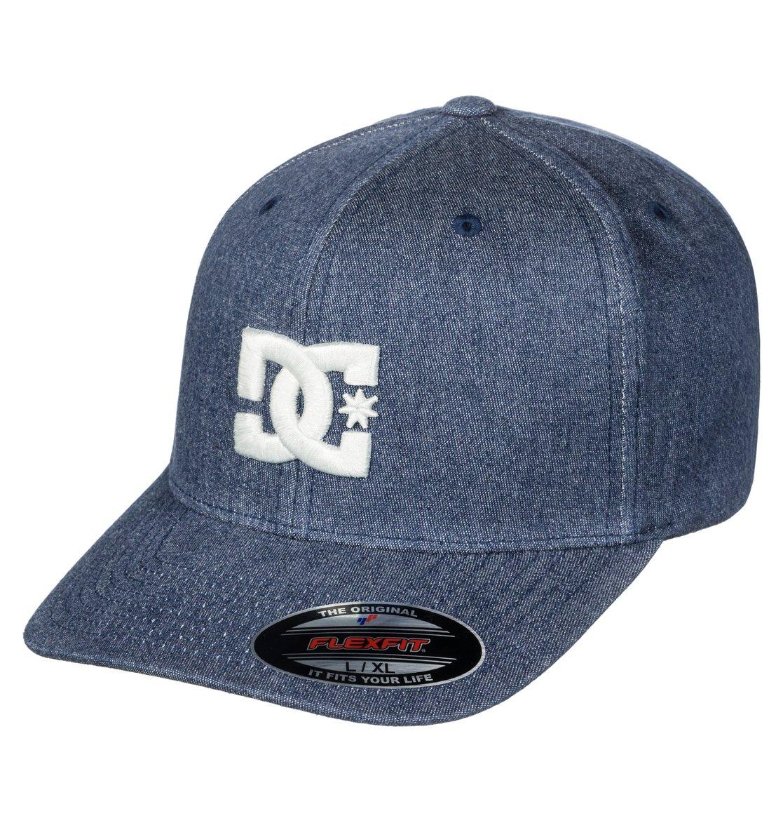 0 Capstar TX - Cappellino flexfit da Uomo Blue ADYHA03561 DC Shoes 4a95951945a5