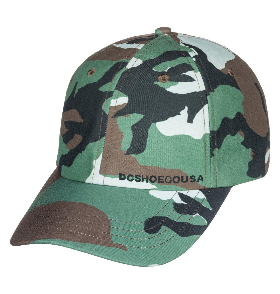 0 Unexpecto Baseball Hat Green ADYHA03604 DC Shoes c31f192801f4