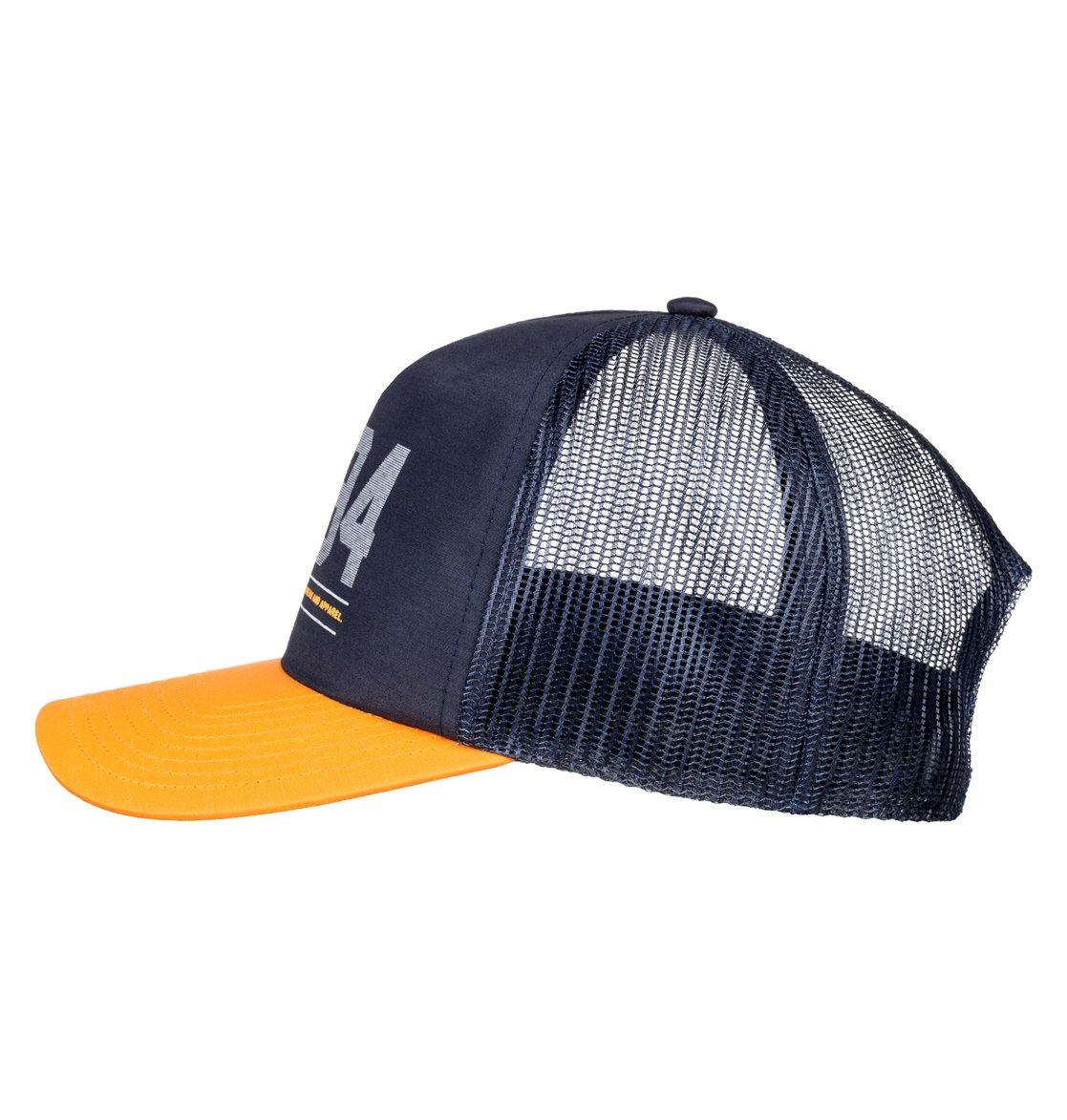1 Yorkstiles - Gorra tipo Trucker para Hombre Azul ADYHA03629 DC Shoes 9bd38419d24