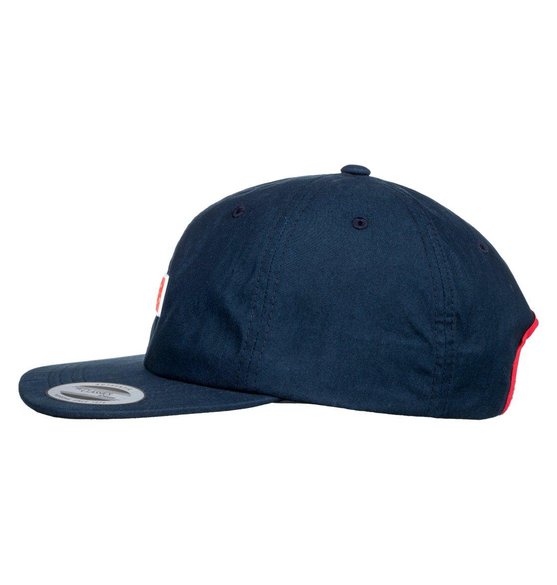 1 Severs Crusher - Strapback Cap for Men Blue ADYHA03640 DC Shoes d81018adf616