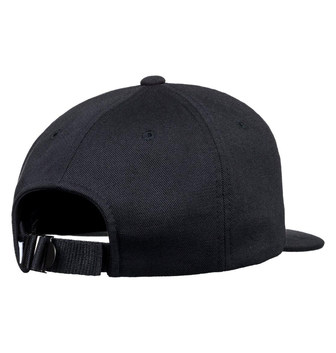 2 Roundballer - Snapback Cap for Men Black ADYHA03642 DC Shoes 217ea382289