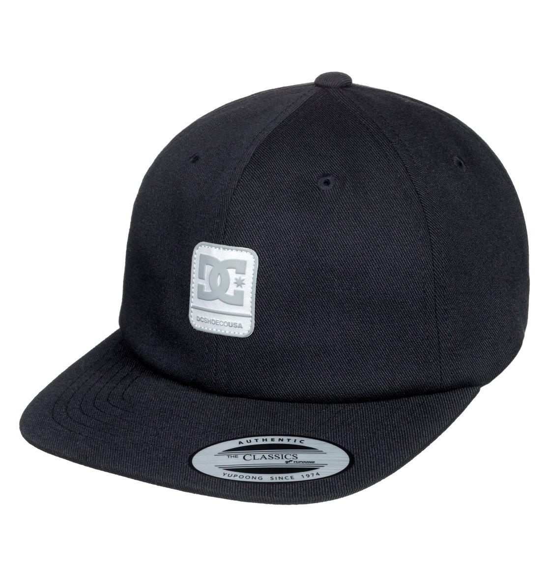 0 Roundballer - Cappellino snapback Black ADYHA03642 DC Shoes bed32f037b54