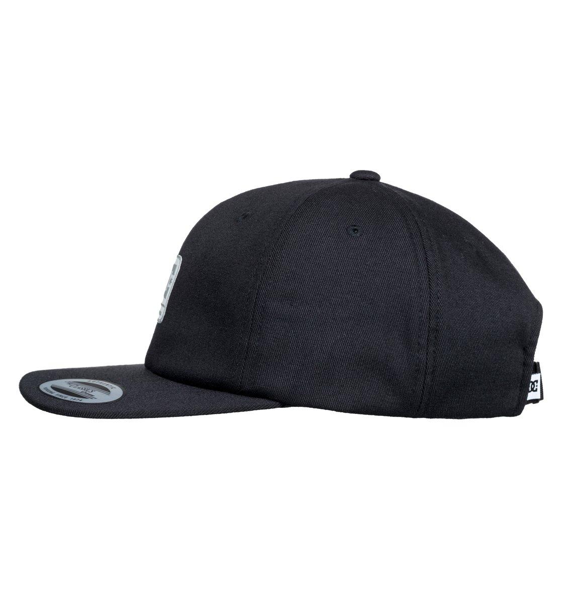 1 Roundballer - Snapback Cap for Men Black ADYHA03642 DC Shoes 569a9ffde7fc