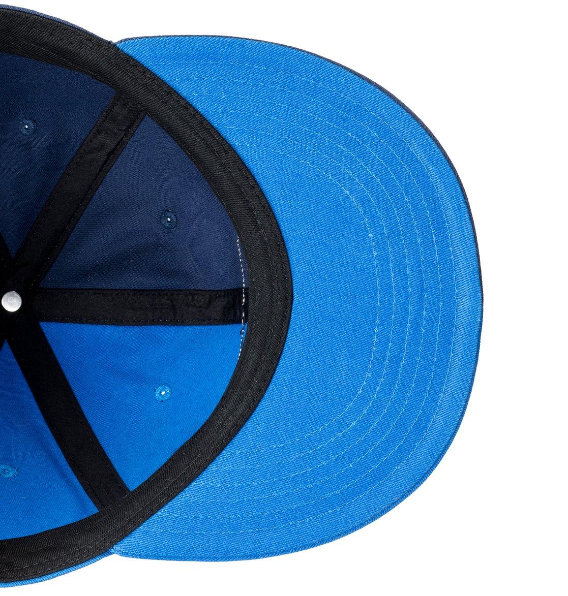 3 Switch Off - Snapback Cap for Men Blue ADYHA03755 DC Shoes 8af12f7e34a
