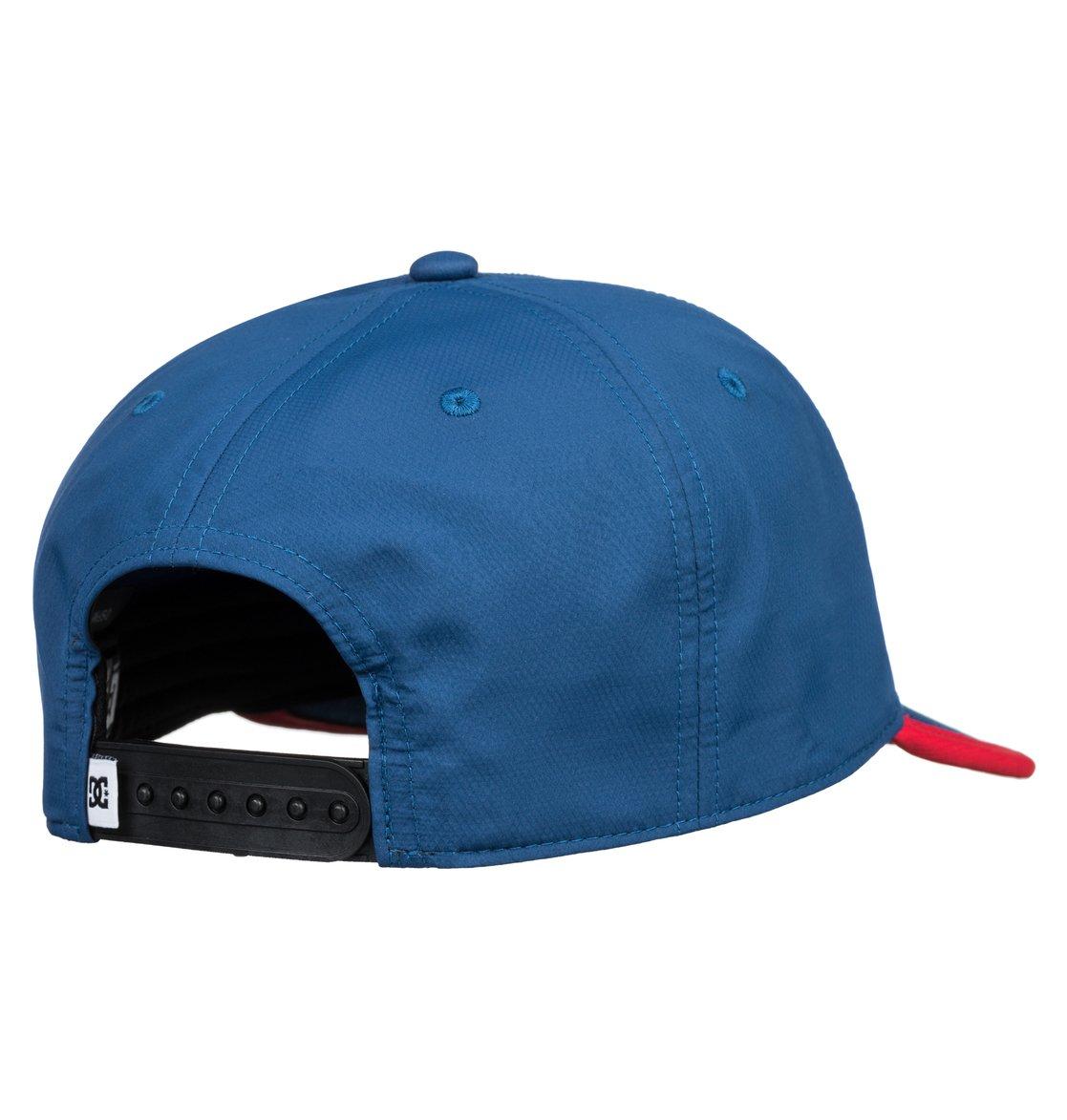2 Crankers - Cappellino snapback da Uomo Blue ADYHA03758 DC Shoes b0e55f7f3d86