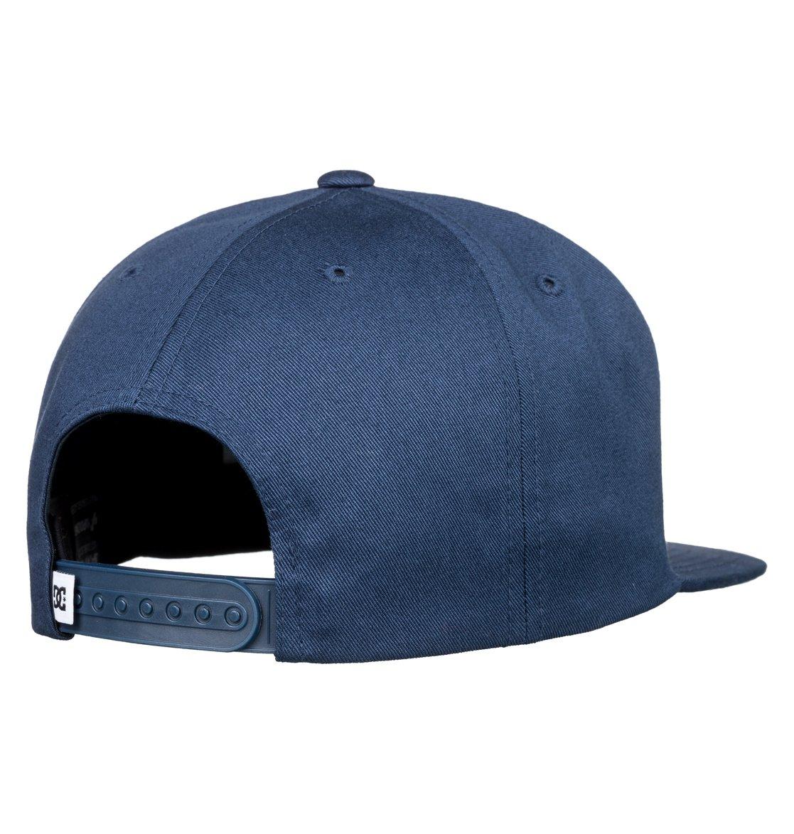 2 Snapdragger Snapback Hat Blue ADYHA03759 DC Shoes bd7eb770930