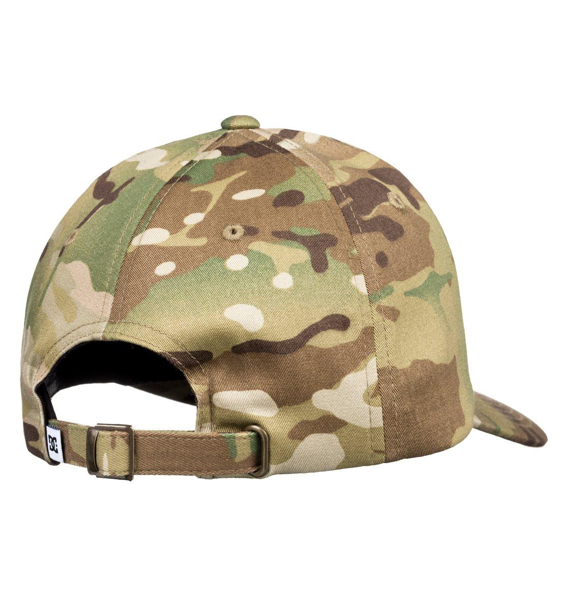2 Cam Hipper Baseball Hat Green ADYHA03762 DC Shoes a869b9caa63