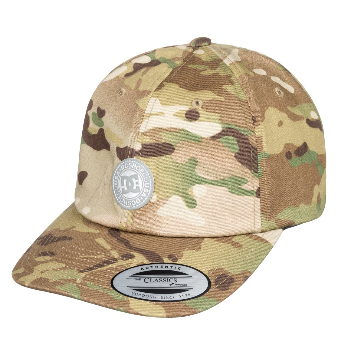 0 Cam Hipper Baseball Hat Green ADYHA03762 DC Shoes 7ac6697bdedc
