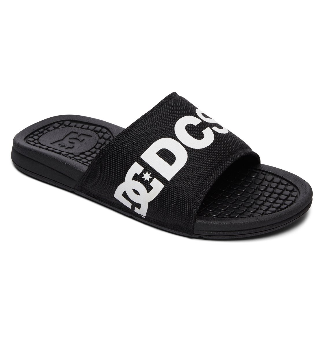 0ee1126c8367f DC Shoes Men s Bolsa SP Slider Sandals SLIPPER Beachwear Black BKW ...