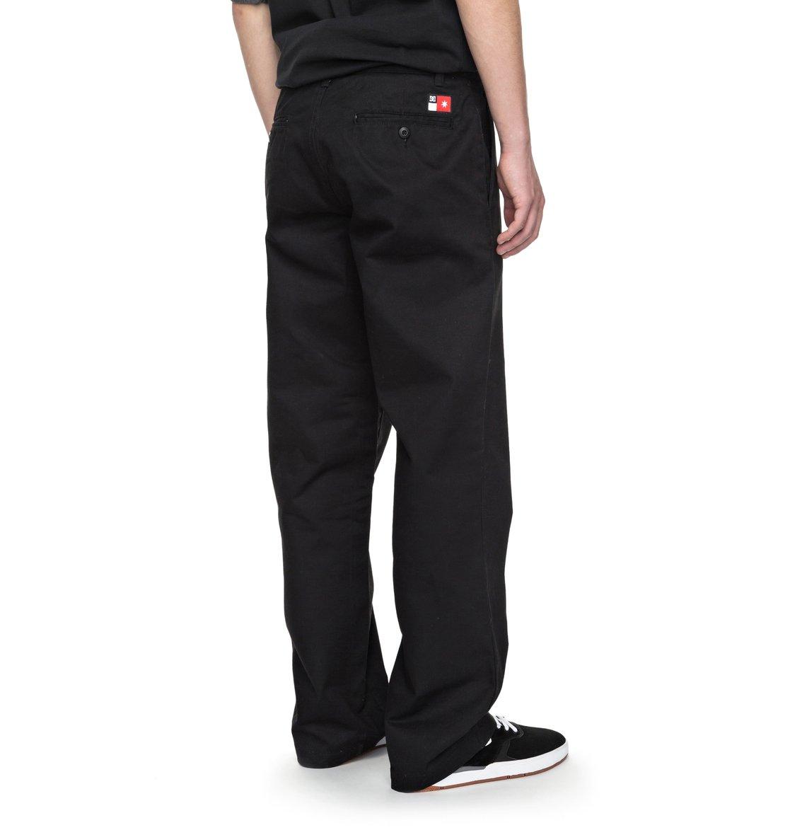 dc shoes Core All Season - Pantaloni da skate da Uomo - Black - DC Shoes