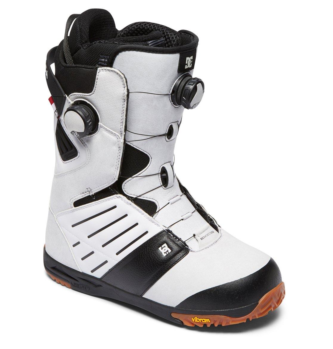 0fe1eada69f32 1 Judge - Boots de snow BOA pour Homme Blanc ADYO100031 DC Shoes