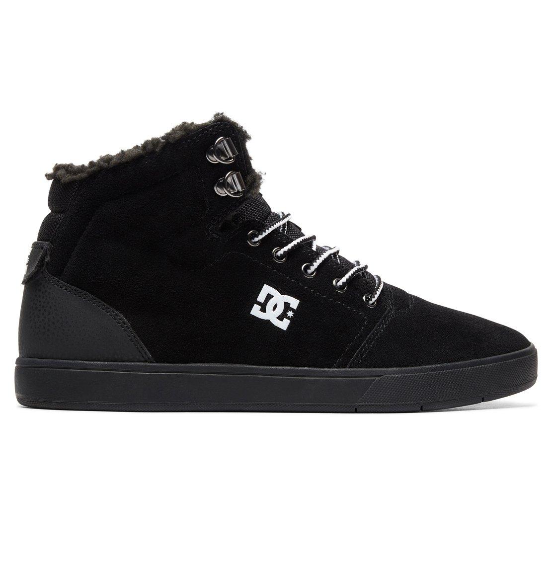 24307d1bba679 0 Crisis WNT - Chaussures montantes pour Homme Noir ADYS100116 DC Shoes