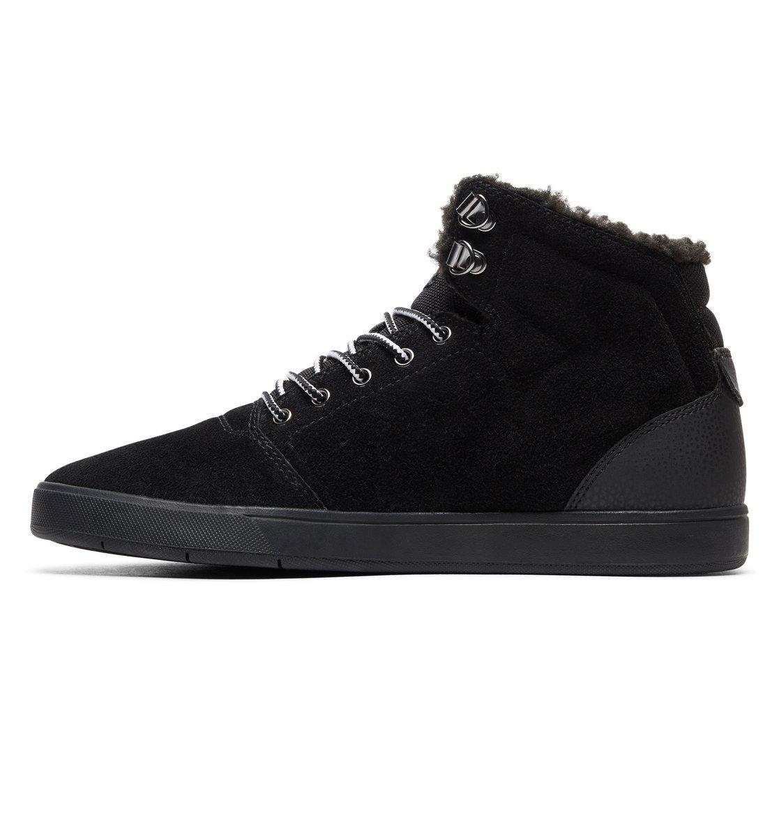 27dc594b25992 2 Crisis WNT - Chaussures montantes pour Homme Noir ADYS100116 DC Shoes