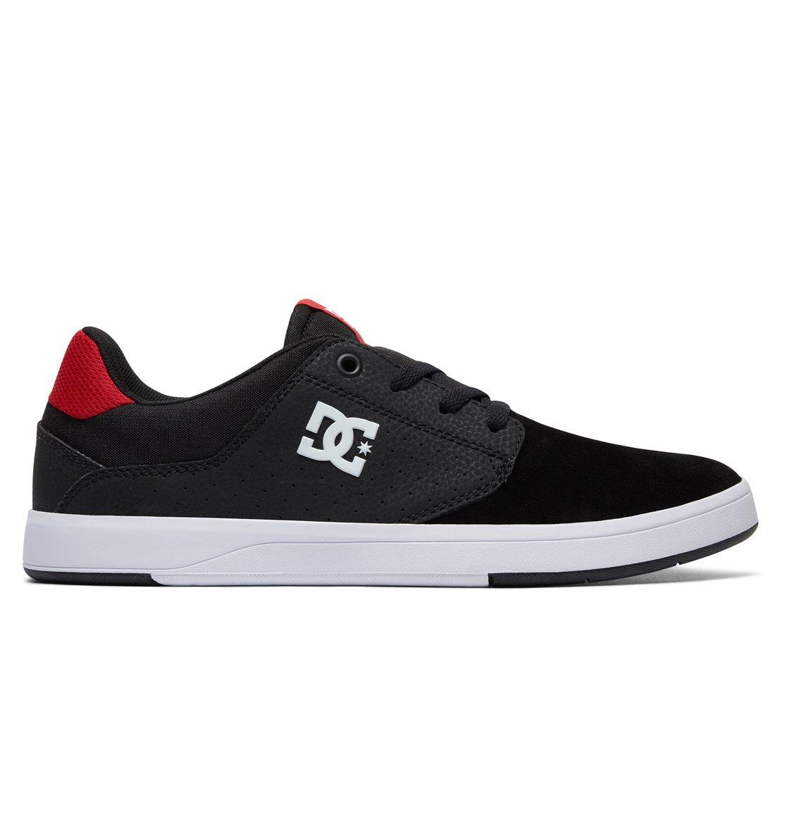 DC Shoes PLAZA TC S black athletic red Noir - Livraison Gratuite avec - Chaussures Chaussures de Skate Homme