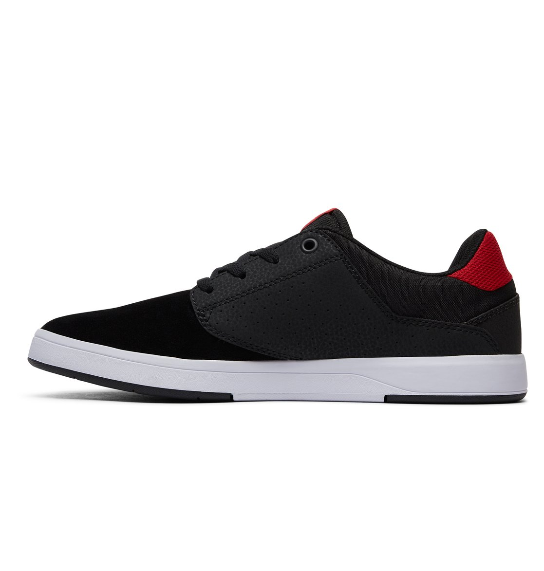 Chaussures DC Plaza Tc S Black Athletic Red Bah