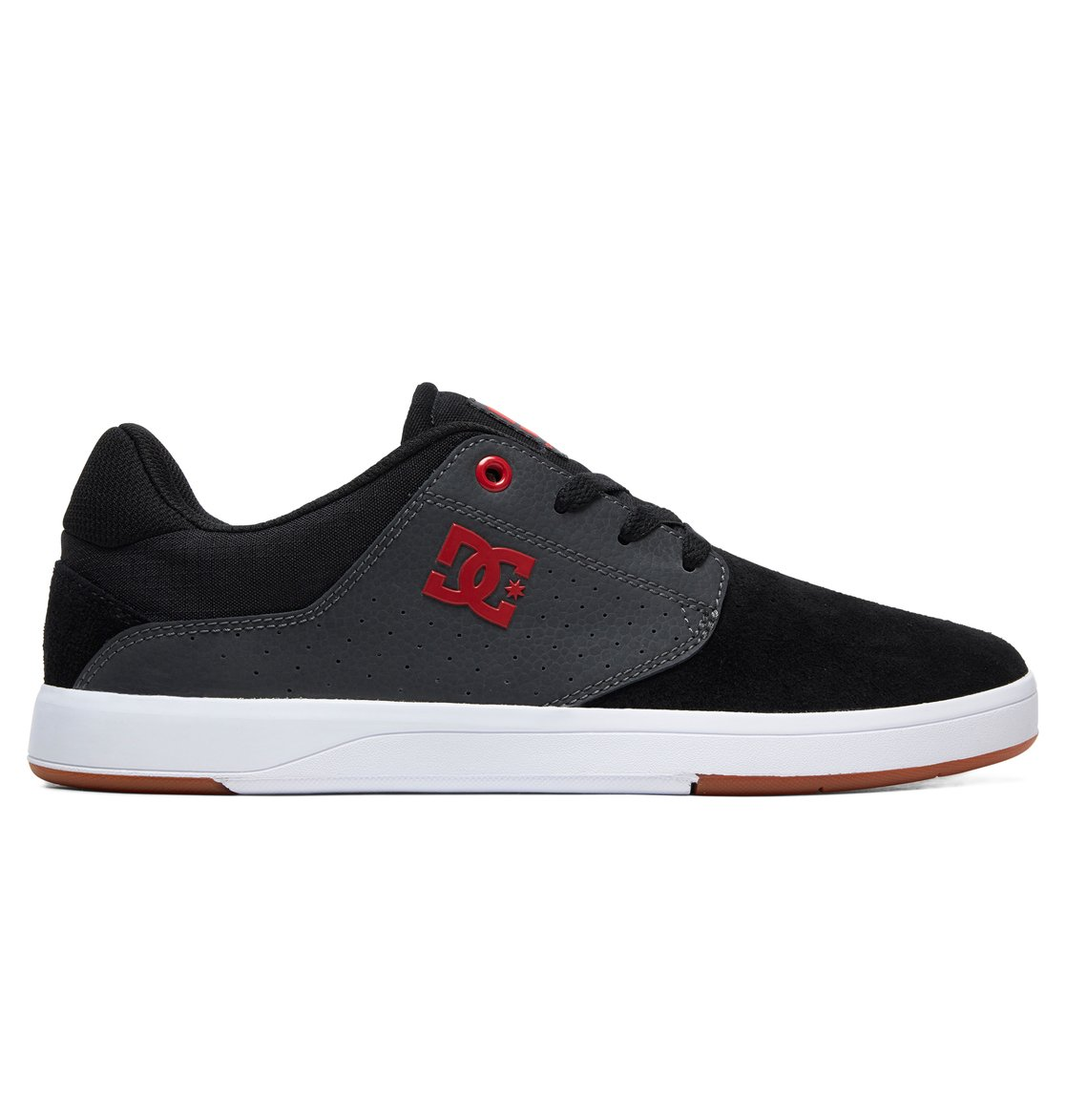 0 Plaza S Skate Shoes Black ADYS100319 DC Shoes ed5e317b6aa59