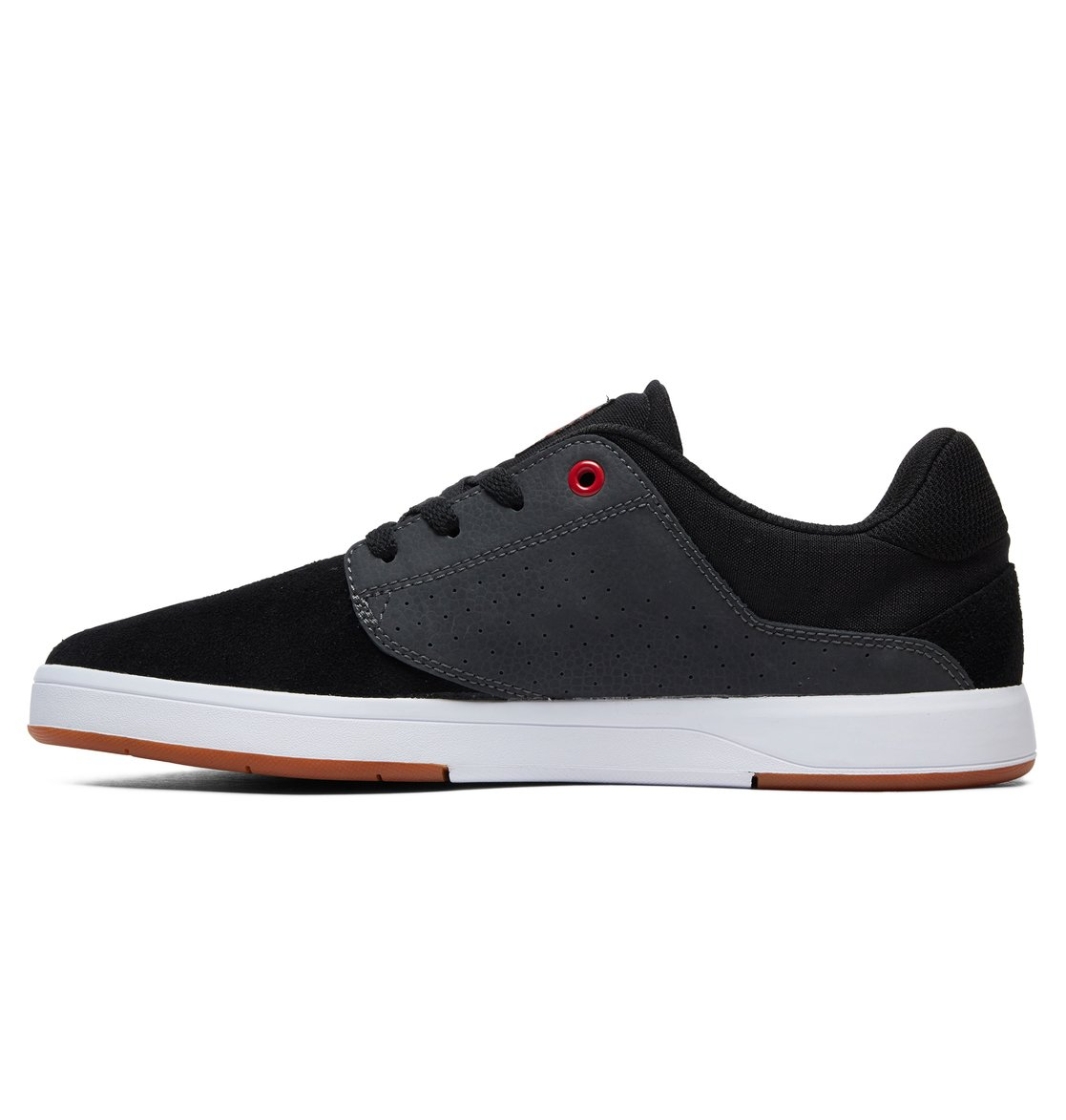 2 Plaza S Skate Shoes Black ADYS100319 DC Shoes 4c2db7c3cf539