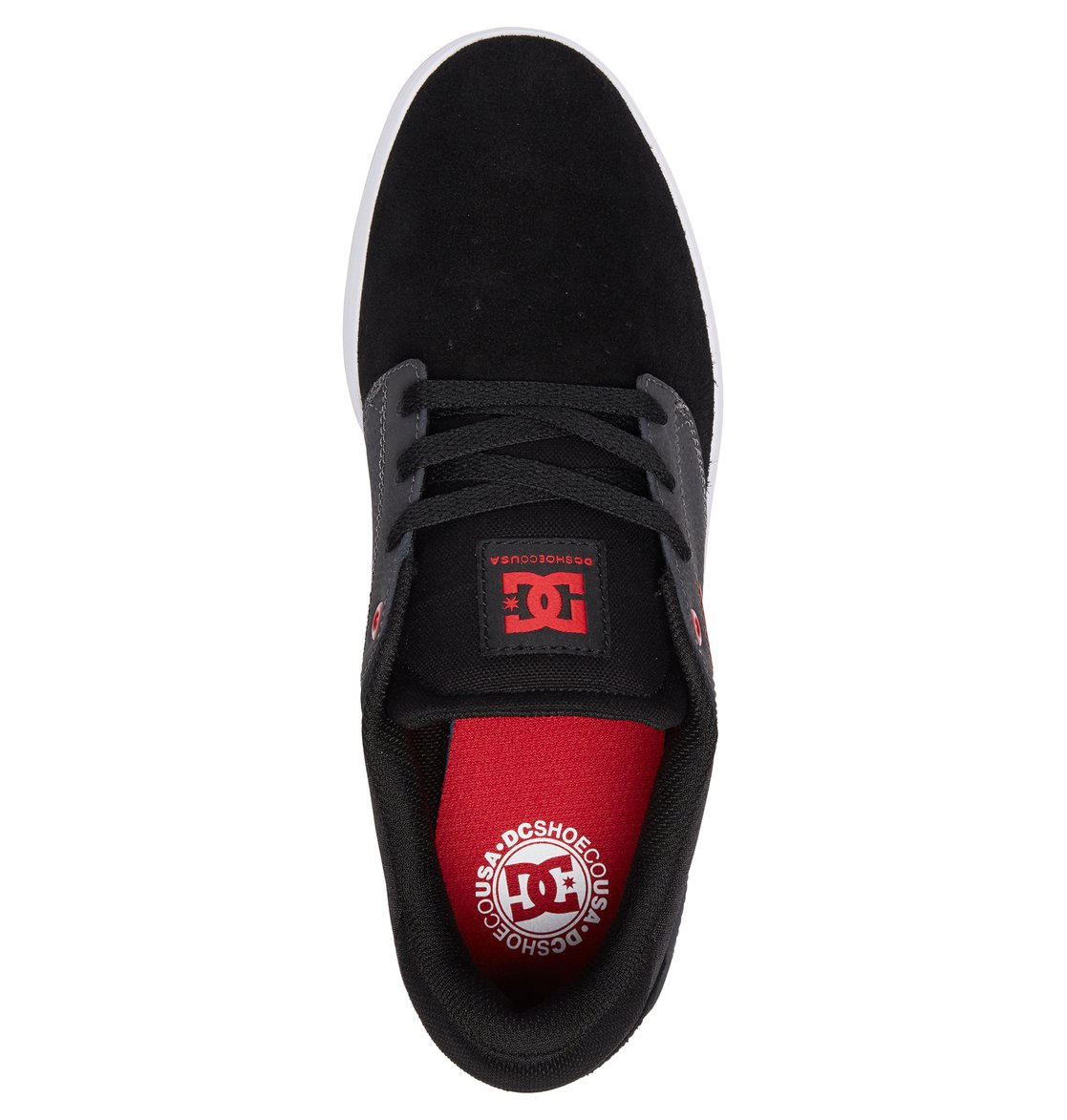 3 Plaza S Skate Shoes Black ADYS100319 DC Shoes 716b1d89c3499