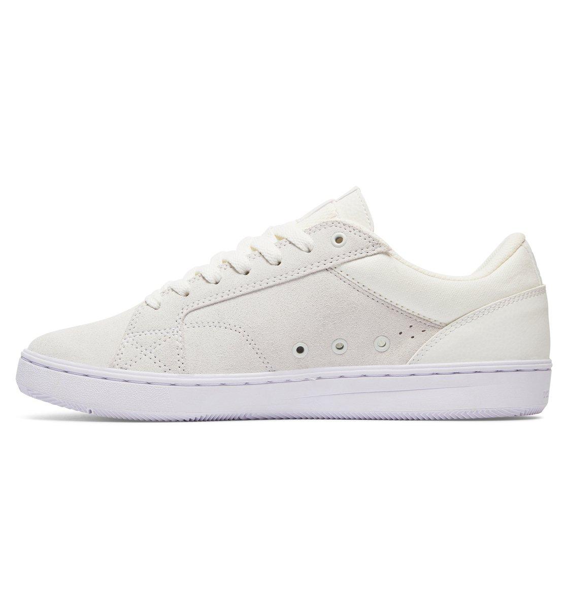 DC Shoes ASTOR - Skate shoes - white / black