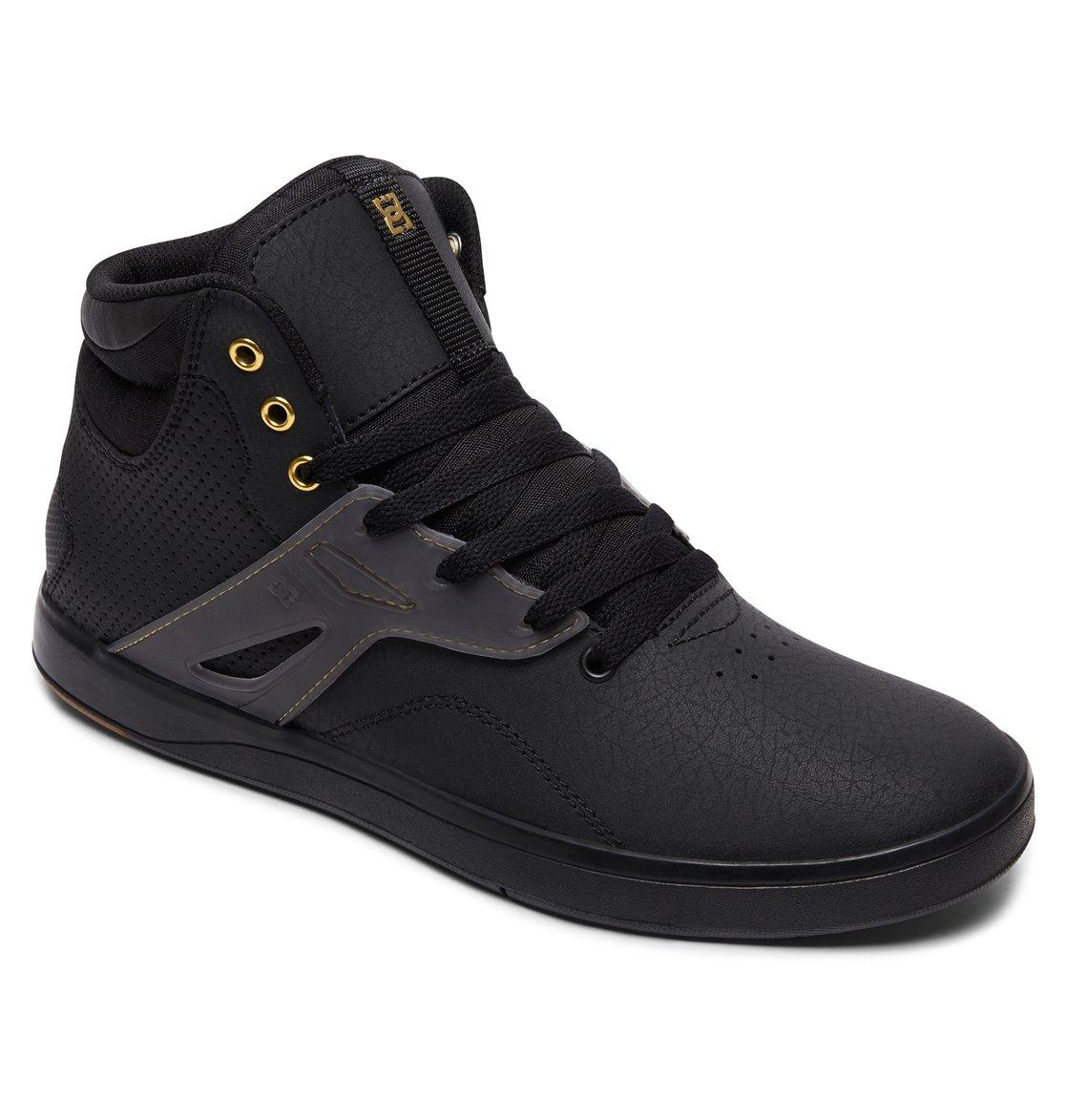 Black High Top Dc Shoes