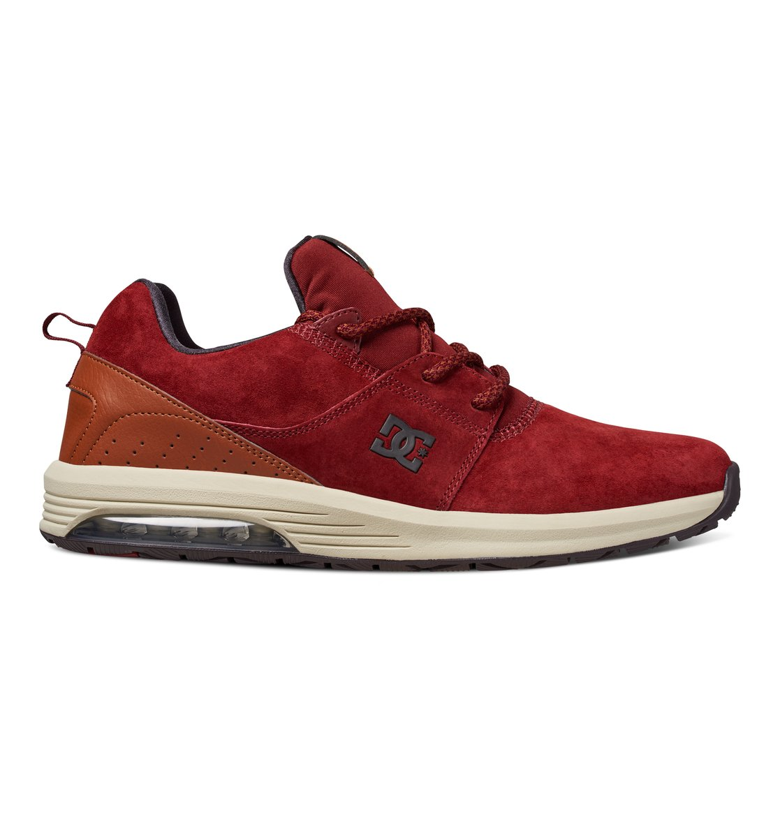 DC SHOES Heathrow Chaussure Homme - Taille 40.5 - ROUGE