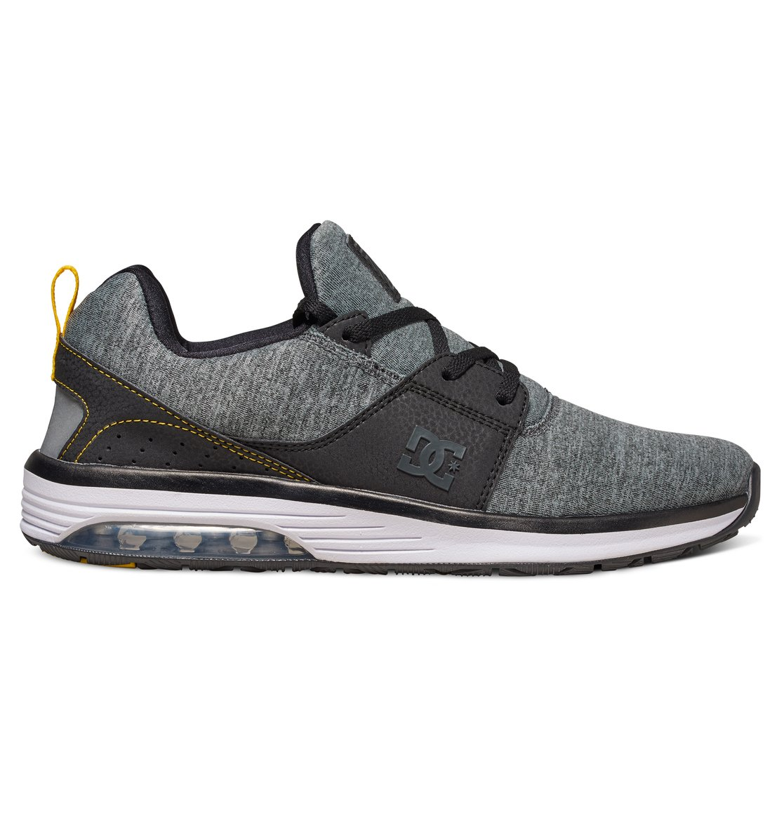 DC Shoes Heathrow EV - Shoes - Baskets - Garçon - US 12/UK 11/EU 29 - Noir