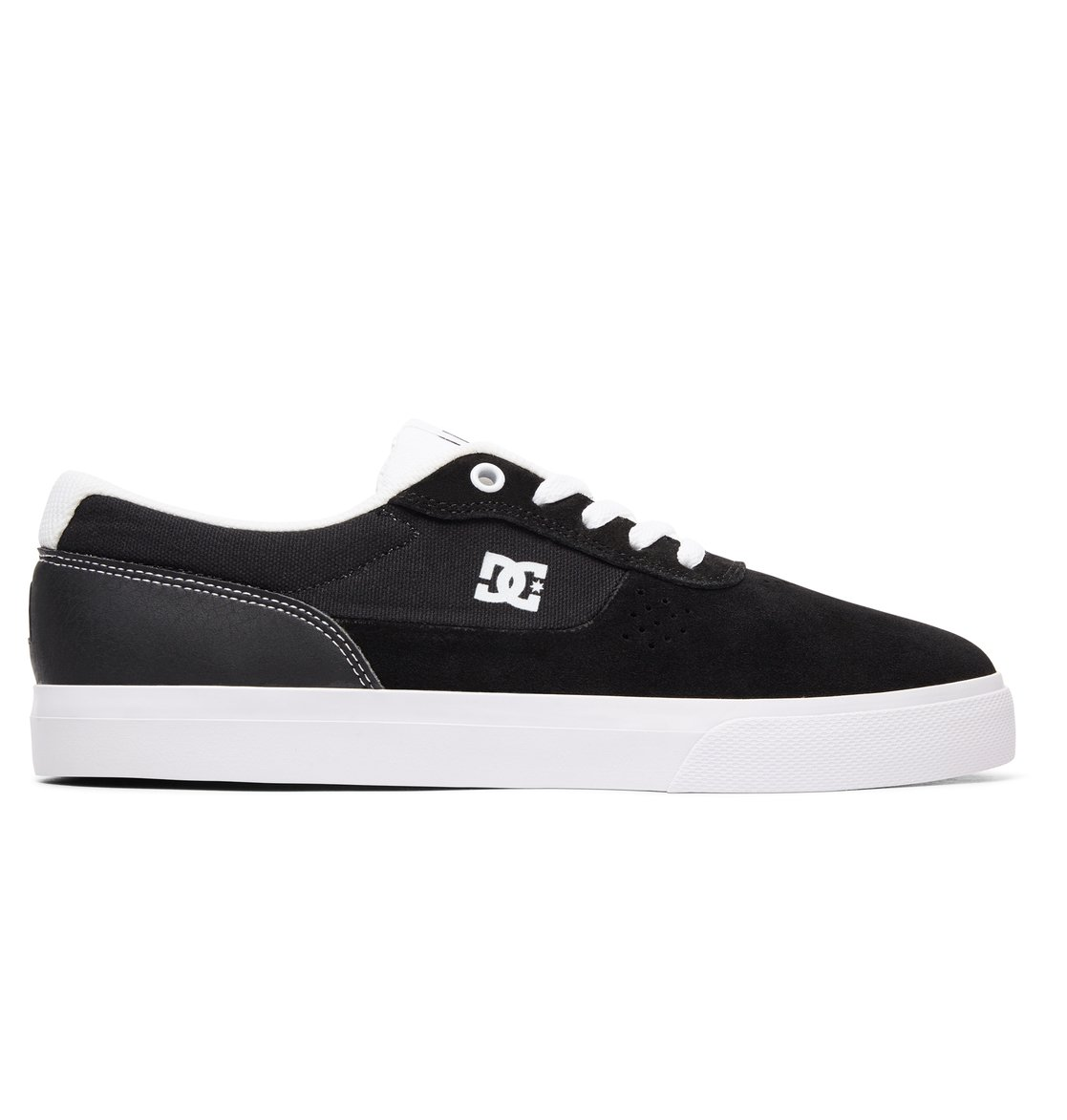 0 Switch S - Skate Shoes for Men Black ADYS300104 DC Shoes 9f374ee553