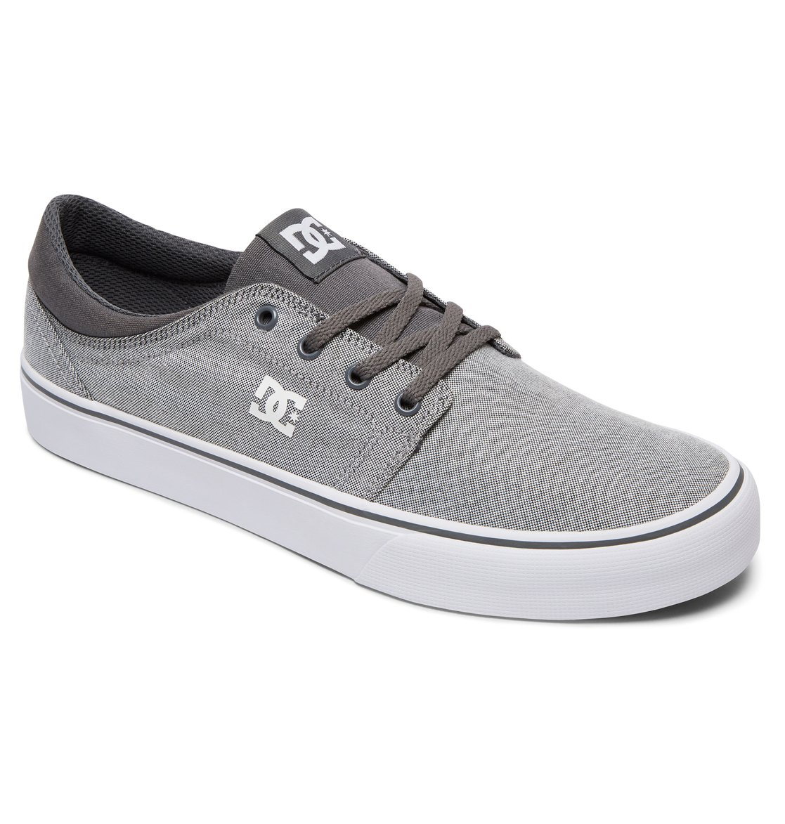DC Shoes Chaussure DC Trase S Gris (EU 40.5/US 8, Gris)
