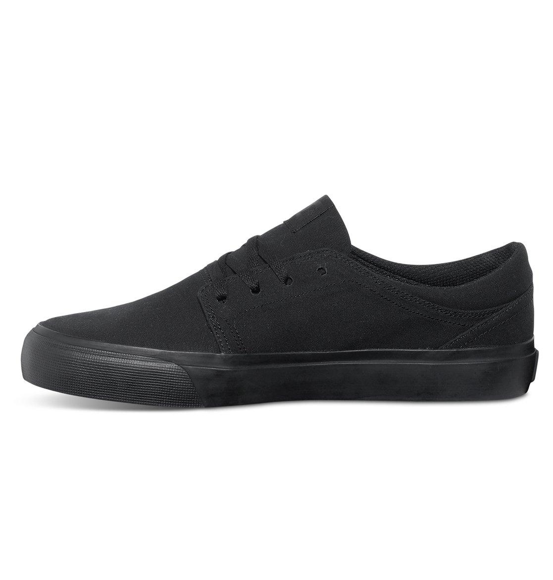 DC Trase TX M Shoe 3BK - Zapatilla Deportiva de Lona Hombre, Color Negro, Talla 41